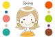 パーソナルカラー スプリング(春)タイプの特徴・似合う色