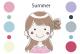 パーソナルカラー サマー(夏)タイプの特徴・似合う色
