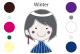 パーソナルカラー ウインター(冬)タイプの特徴・似合う色